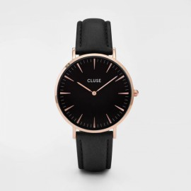 Cluse La Bohème Rose Gold Black / Black