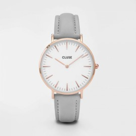Cluse La Bohème Rose Gold White / Grey