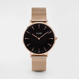 Cluse La Bohème Mesh Rose Gold / Black