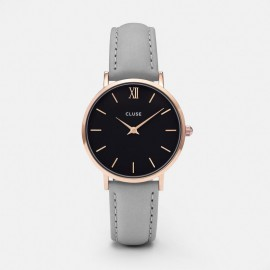 Cluse Minuit Rose Gold Black / Grey