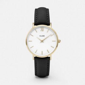 Cluse Minuit Gold White / Black