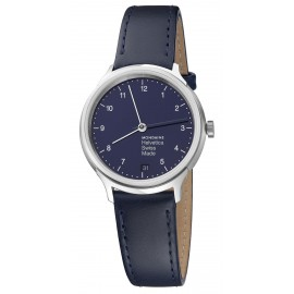 Mondaine rannekello Helvetica Regular 33mm Navy Blue